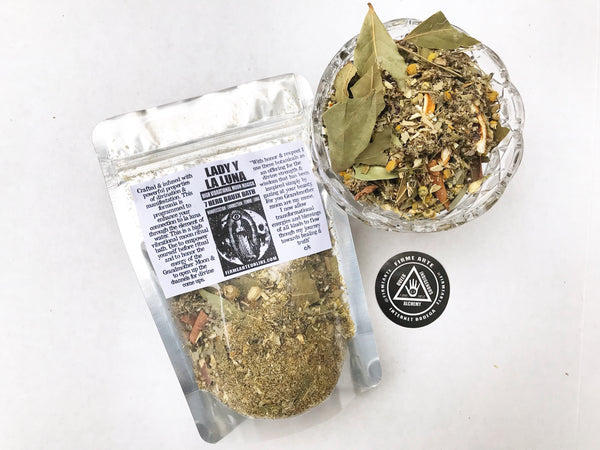 7 Herb Bruj@ Bath | Lady y La Luna | High Vibrational Moon Magick