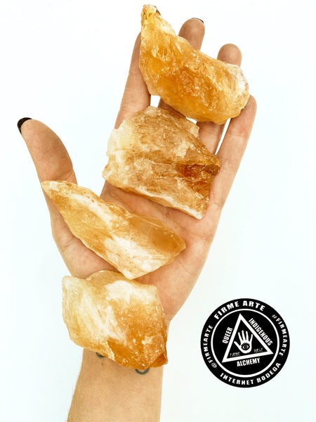Crystals | Golden Calcite | Raw Crystal Chunks