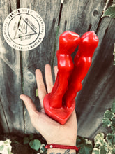 Figure Candle | Eye To Eye | Conjoined Lovers | RED