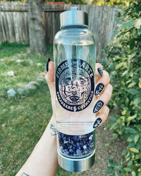 Water Worship | Crystal Companion Bottle