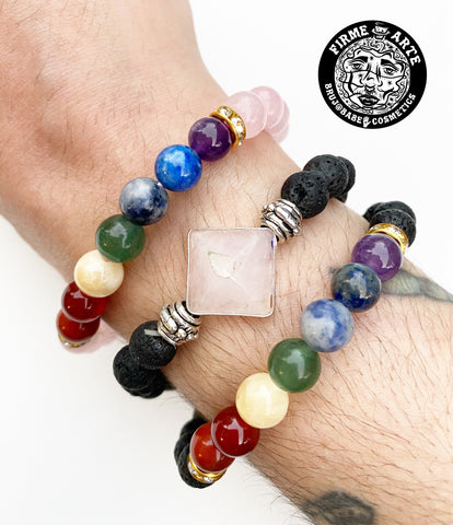 Accessories | Crystal Chakra & Lava Bead Bracelets