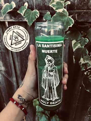 Ritual Candle | Santa Muerte Money Magick