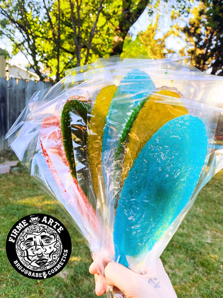 Candy & Snacks | Slaps Lollipops | Tropical Mix 10pk