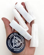 Selenite wands - small