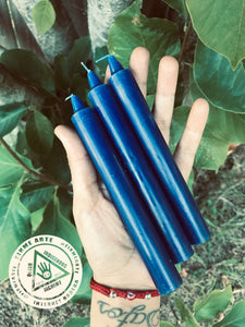 Taper Candles | BLUE | 6 inch