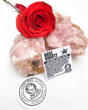 Rose Quartz - Raw Chunks  (Brazilian)