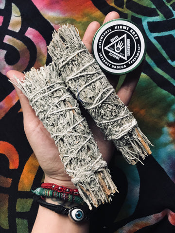 Mountain Sage + Myrrh | Botanical Bundle For Smoke Magick