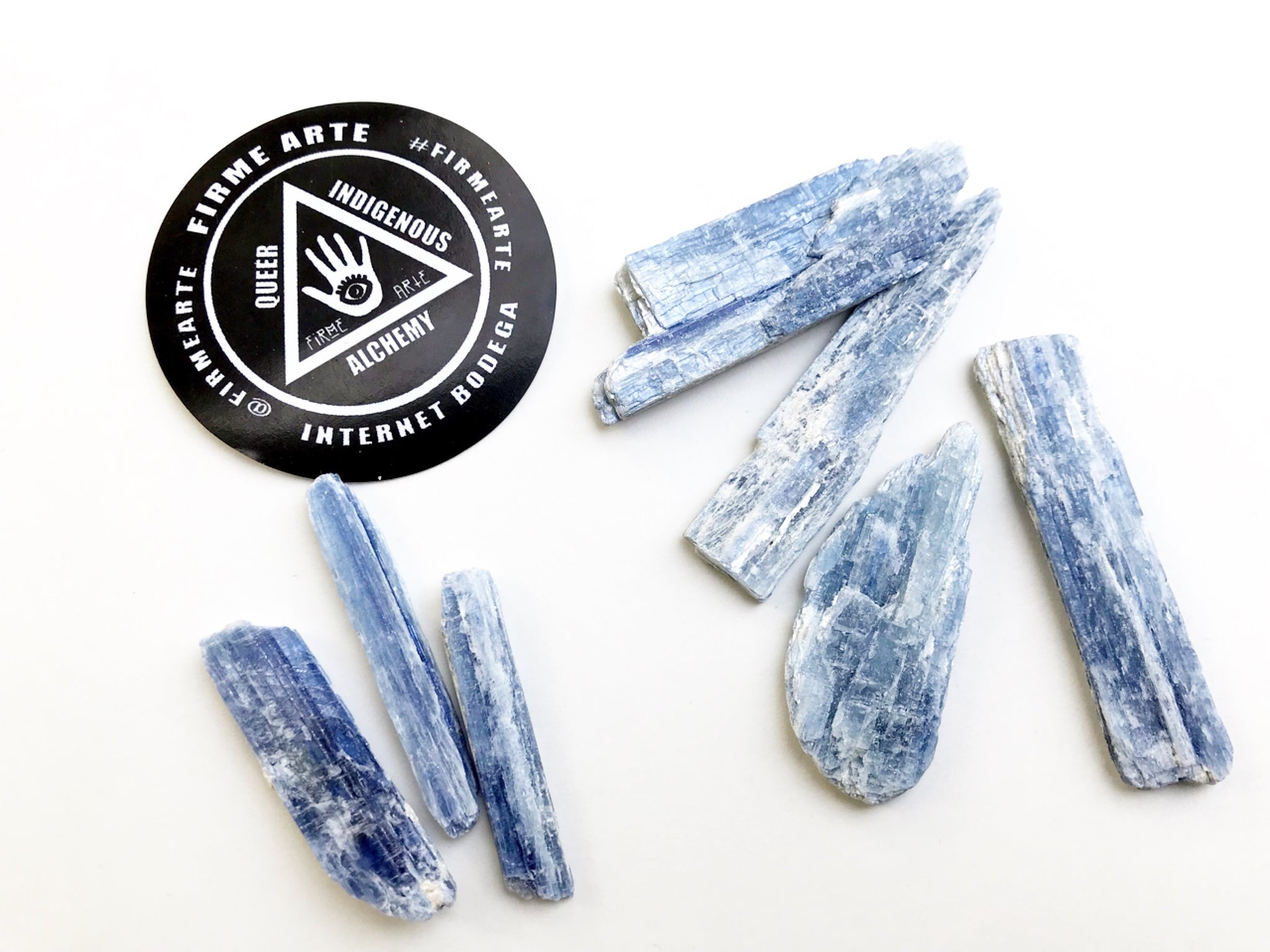 Raw Blue Kyanite Blades