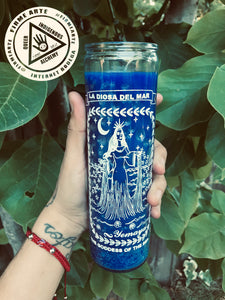 Ritual Candle | Goddess Of The Sea | Yemaya