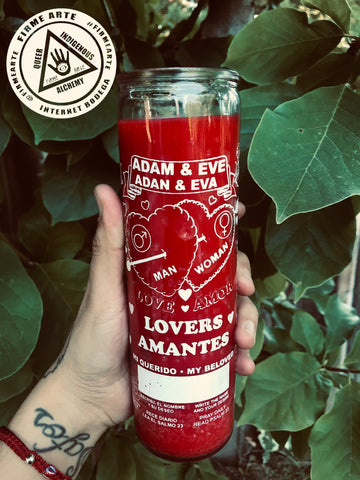 Ritual Candle | Adam & Eve | Lovers