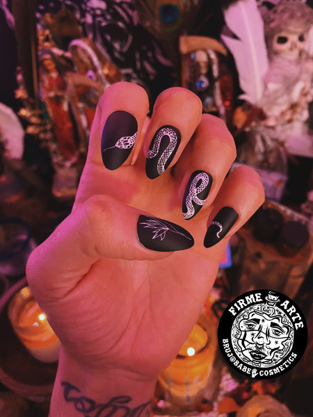 Nail Worship | Manicure Ritual | Serpent Tongue