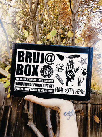 Bruj@ Box | Fuck Outta Here | Vibrational Purge | Gift Set
