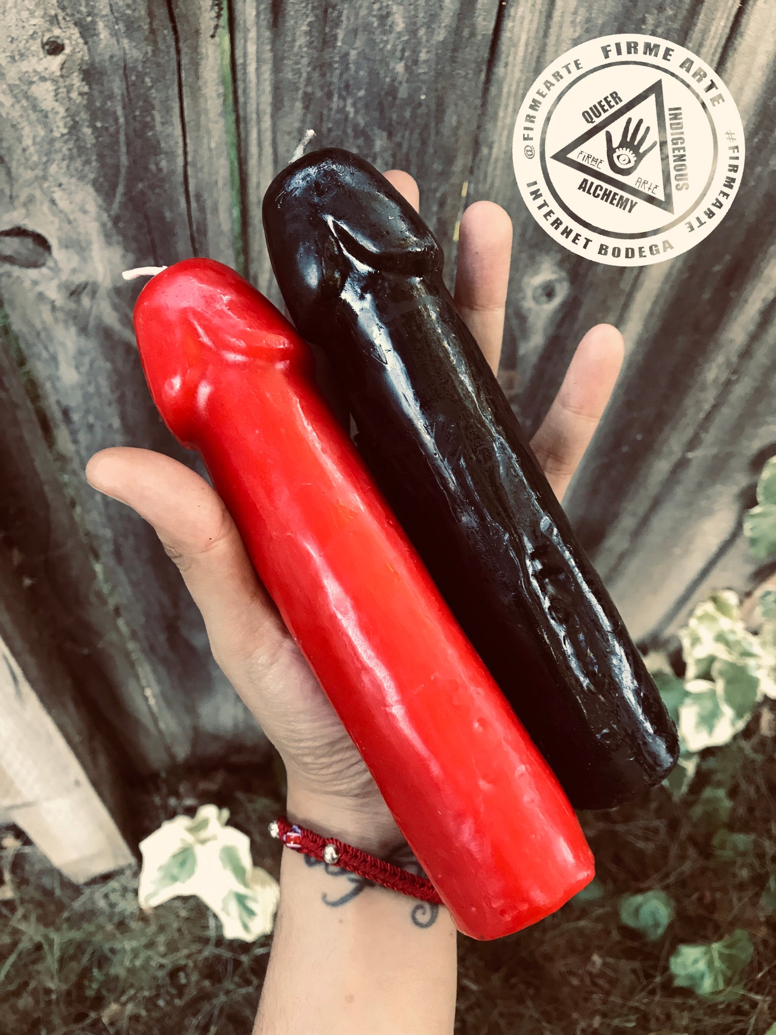 Figure candles | Falace | Penis | Red & Black
