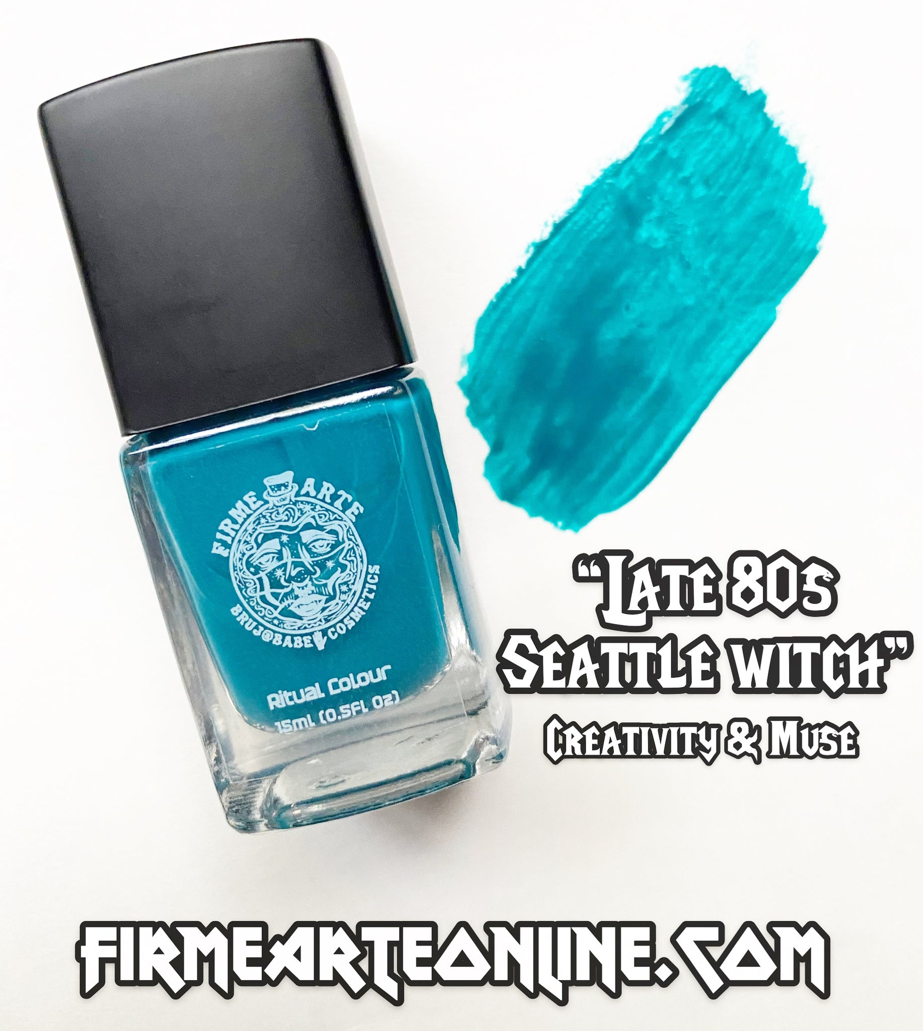 Nail Worship | Crystal Infused | Ritual Colour | Late 80s Seattle Witch