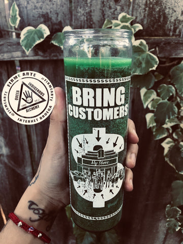 Ritual Candle | Brings Customers