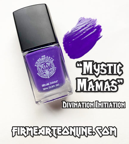 Nail Worship | Crystal Infused | Ritual Colour | Mystic Mamas