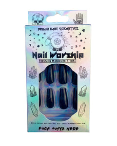 Nail Worship | Manicure Ritual | Fuck Outta Here