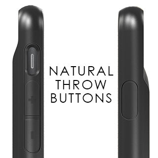 natural throw buttons