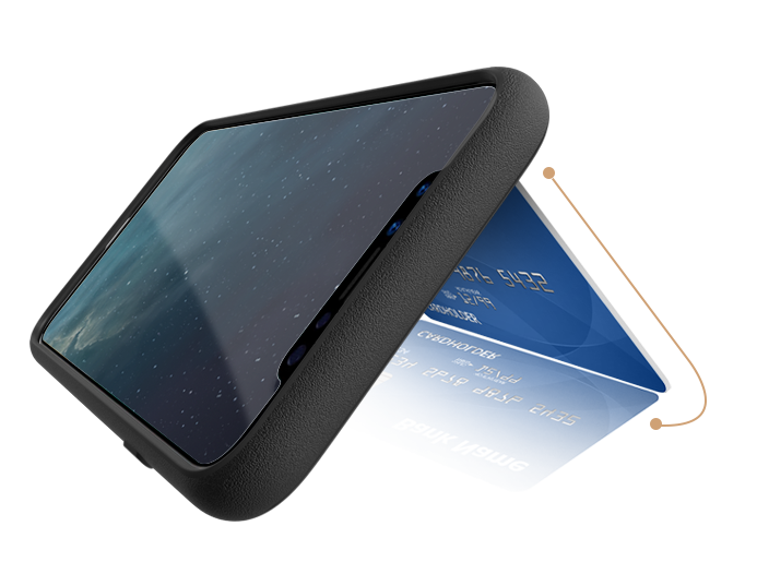 Q Card Case - Credit Card Kickstand