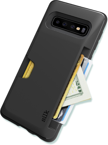 Galaxy S10 Wallet Case - Fits 3 Cards