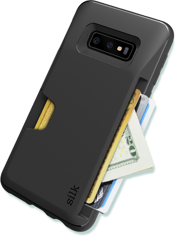 Galaxy S10E Wallet Case - Fits 3 Cards