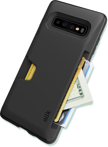 Galaxy S10 Plus Wallet Case - Fits 3 Cards