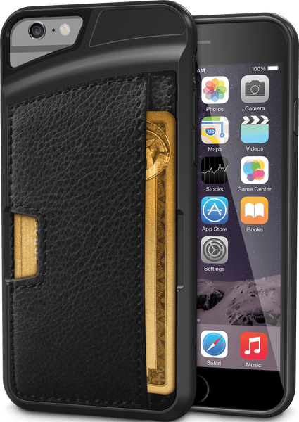 "Q Card Case for iPhone 6/6s ""Wallet Slayer Vol. 2"" (CM4)"