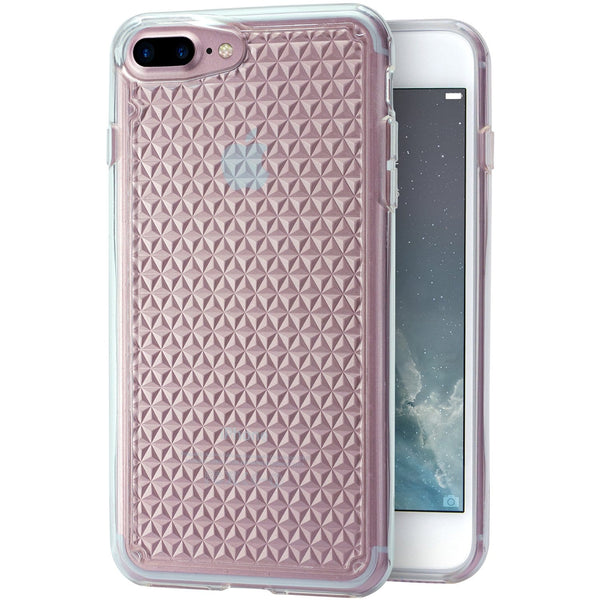 Queen of Diamonds - Clear Case for iPhone 7/8 Plus
