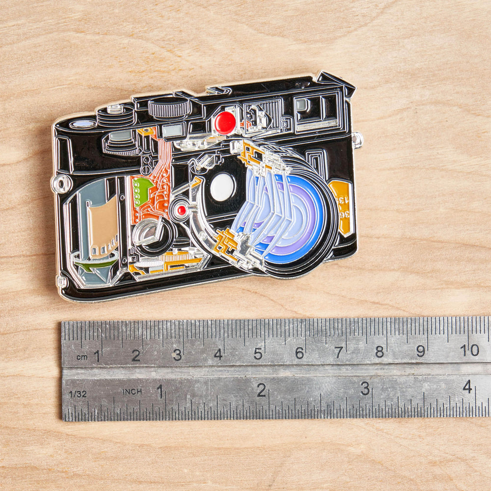 Cross Section of Rangefinder Camera Pin