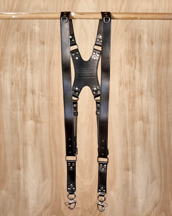 Multi-Camera Leather Strap