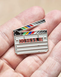 Clapperboard Pin