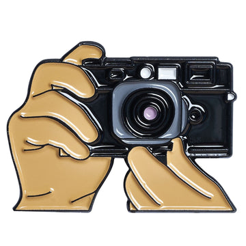 Hands Shooting Film Rangefinder Pin #2
