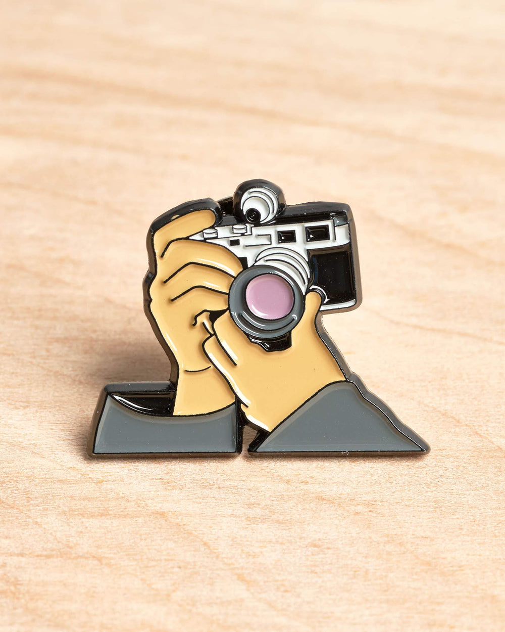 Hands Shooting Film Rangefinder Pin #1