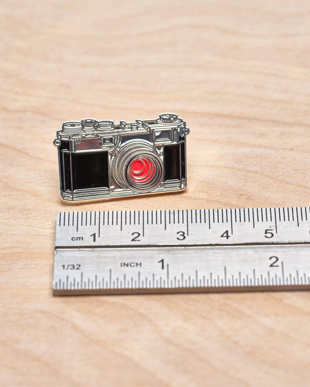 Rangefinder Camera #4 Pin