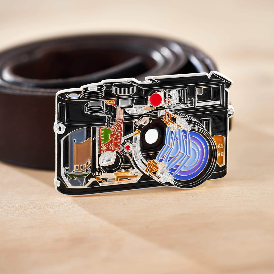 Belt Buckle of Cross Section Rangefinder Camera