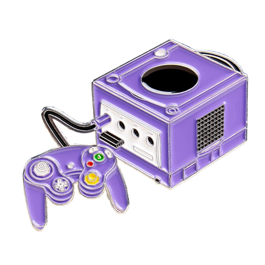 Cube Video Game System Pin #2