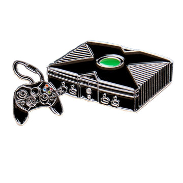 Box Video Game System Pin #3