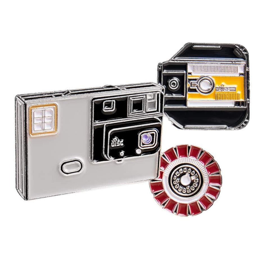 Disc Film and Camera Pin
