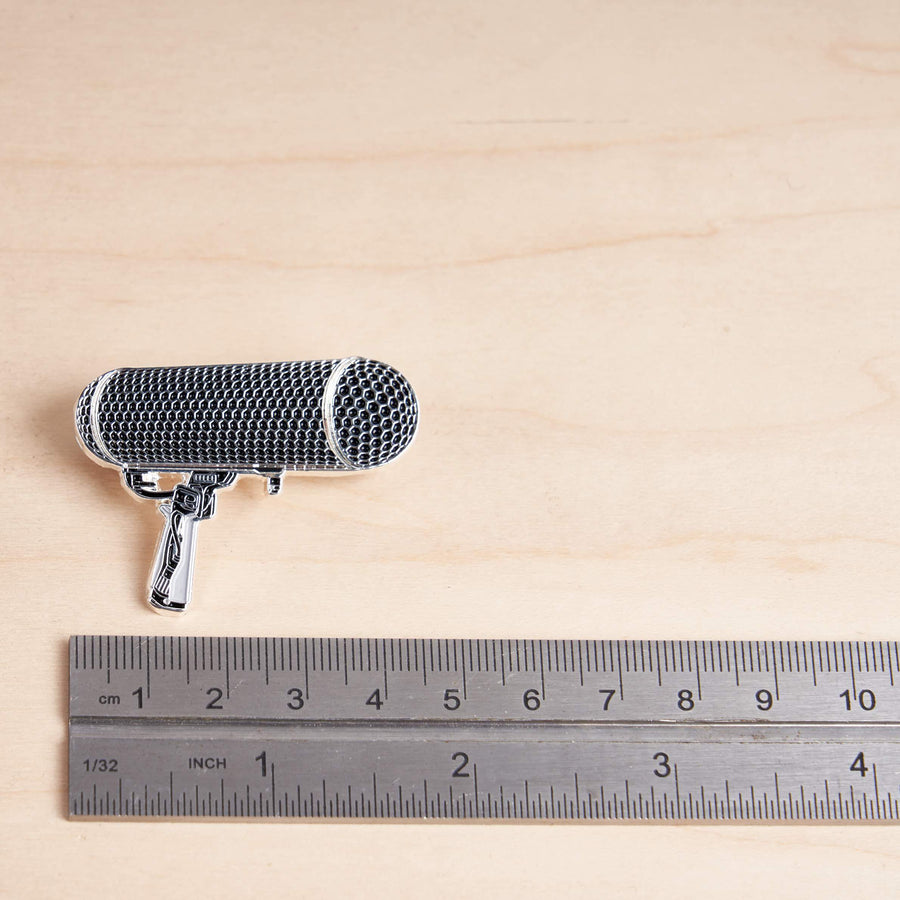 Shotgun Microphone Blimp Pin