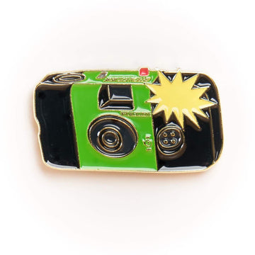 Flashing Disposable Camera #1 Pin Gold Variant