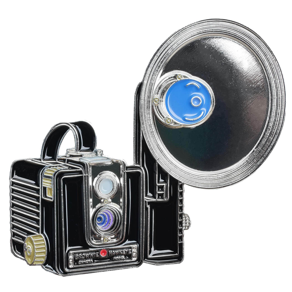 "Brownie ""Hawkeye"" Camera Pin"