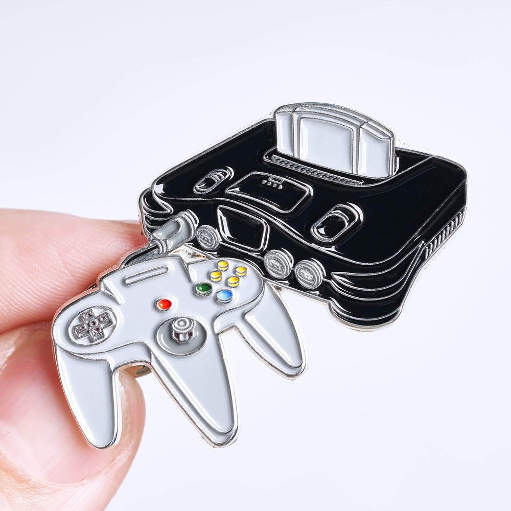 Video Game System Pin #1