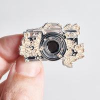 Camera Lost in the Ocean Pin