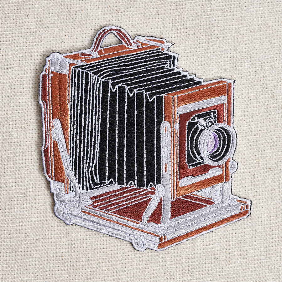 Wooden Large Format Camera Patch