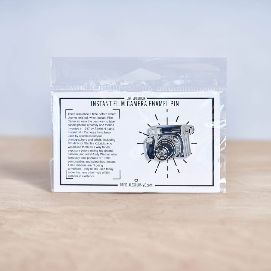 Wide Instant Camera Pin
