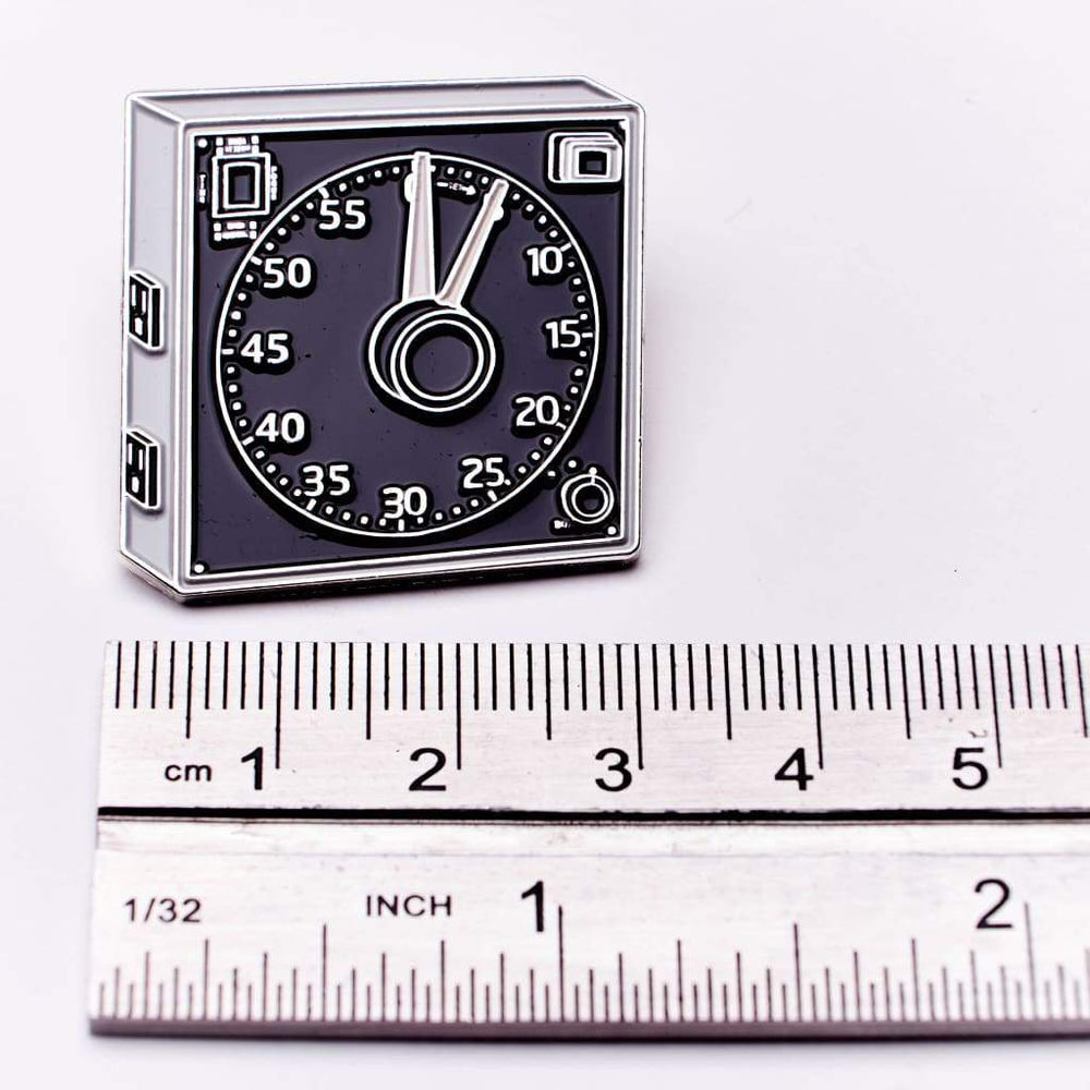 Darkroom Clock Pin - Pin