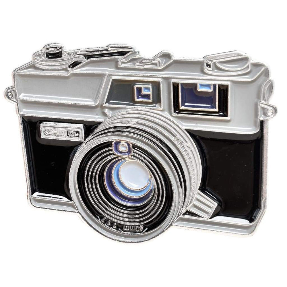 Fixed Lens Rangefinder Camera #1 Pin - Pin