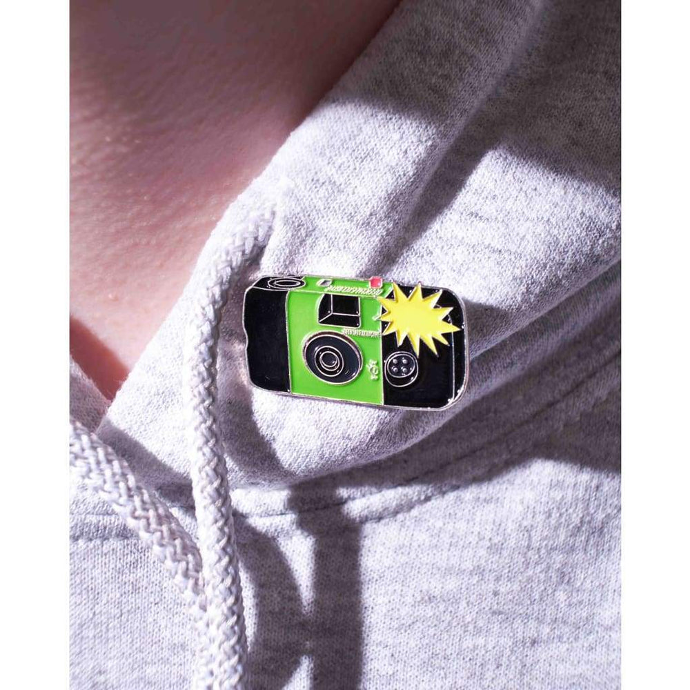Flashing Disposable Camera #1 Pin - Pin