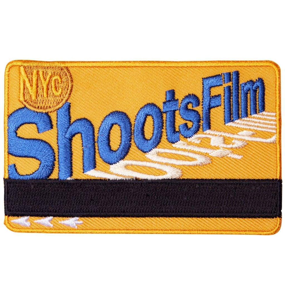 NYC Shoots Film Metro Card Patch - Patch