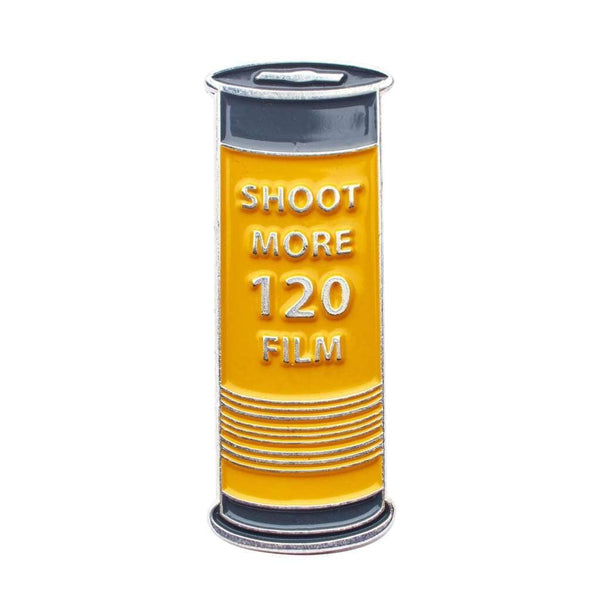 Shoot More 120 Film Pin - Pin